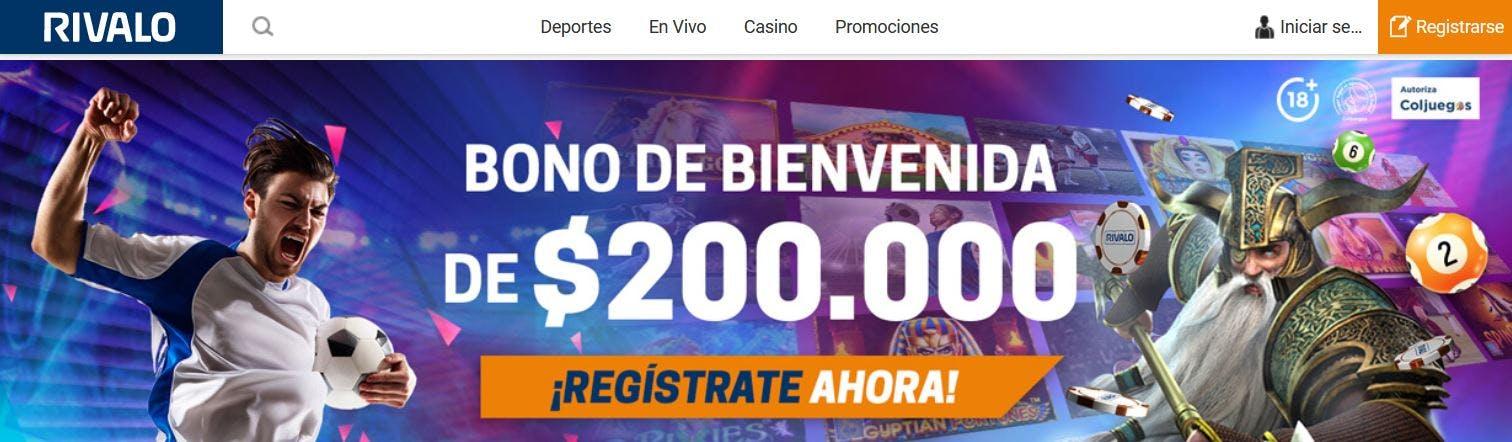 Rivalo casino online en colombia