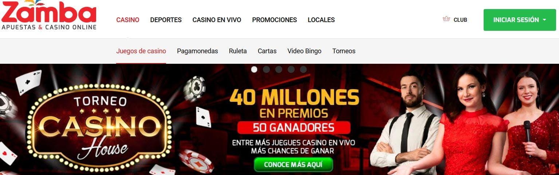 Zamba casino online en combia