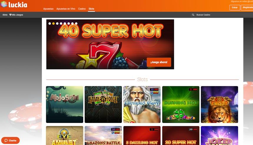 Juegos de casino de Luckia