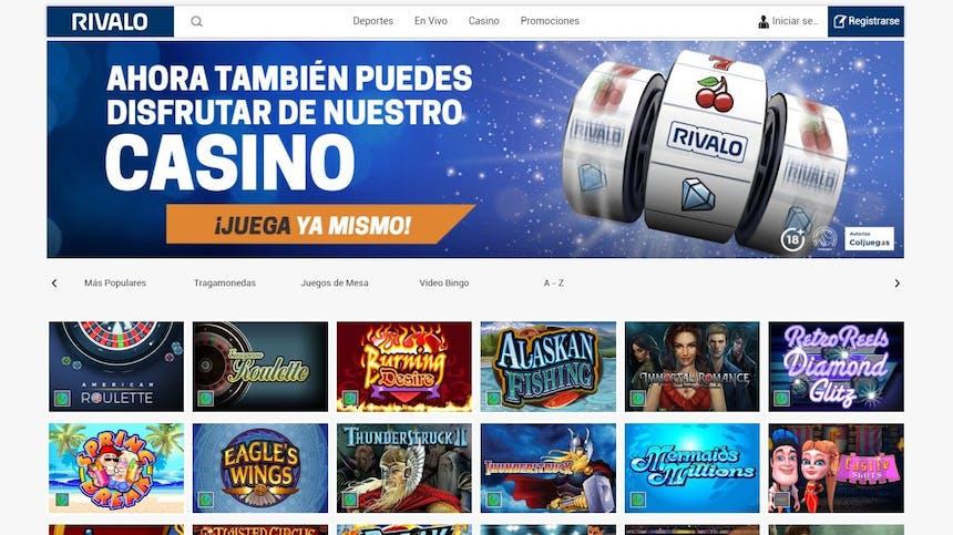 Juegos de casino de Rivalo