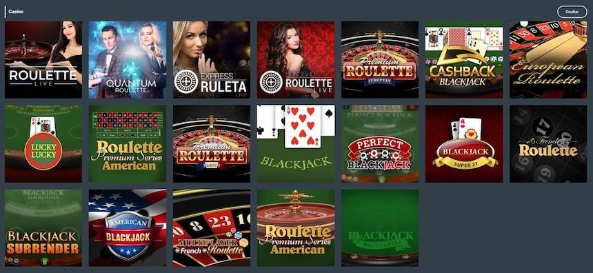 Ruleta en Codere Casino