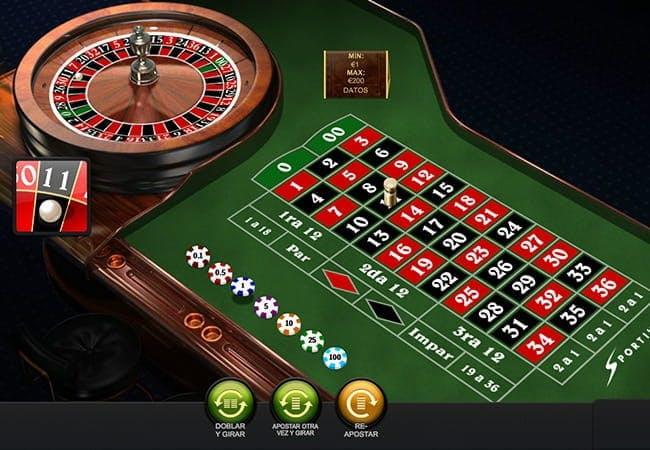 Ruleta en Sportium Casino