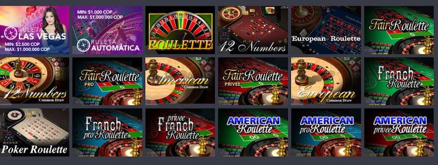 Ruleta en YaJuego casino