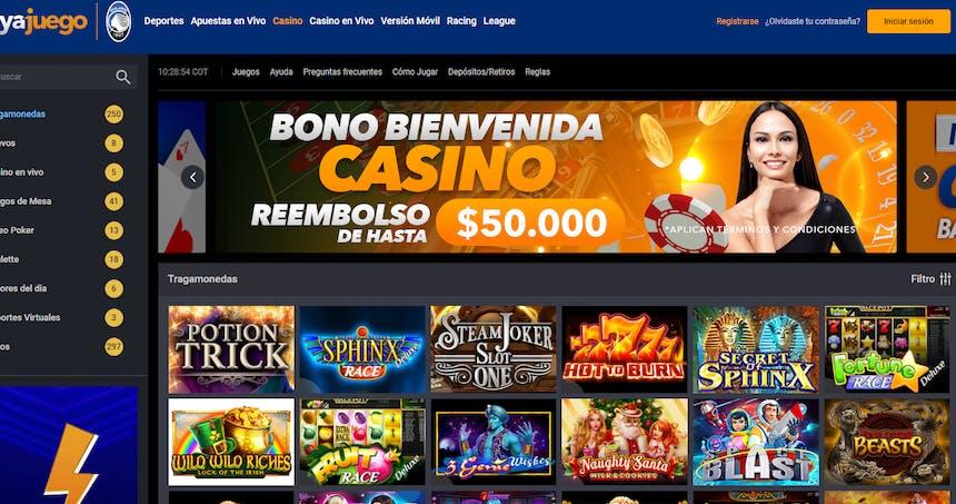 Juegos de casino de YaJuego